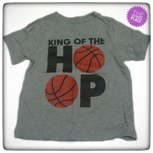 Childrens Place King of The Hoops Basketball Tee